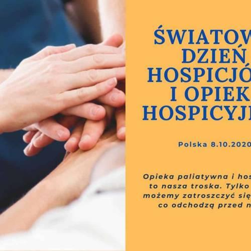 Światowy Dzień Hospicjów i Opieki Hospicyjnej